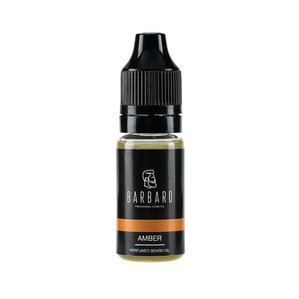 Barbaro Beard Oil Amber - Парфюмированное масло для бороды 10 мл