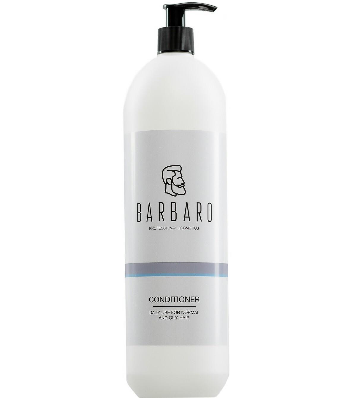 Barbaro Conditioner Daily Use - Кондиционер для ежедневного ухода за нормальными и жирными волосами 1000 мл