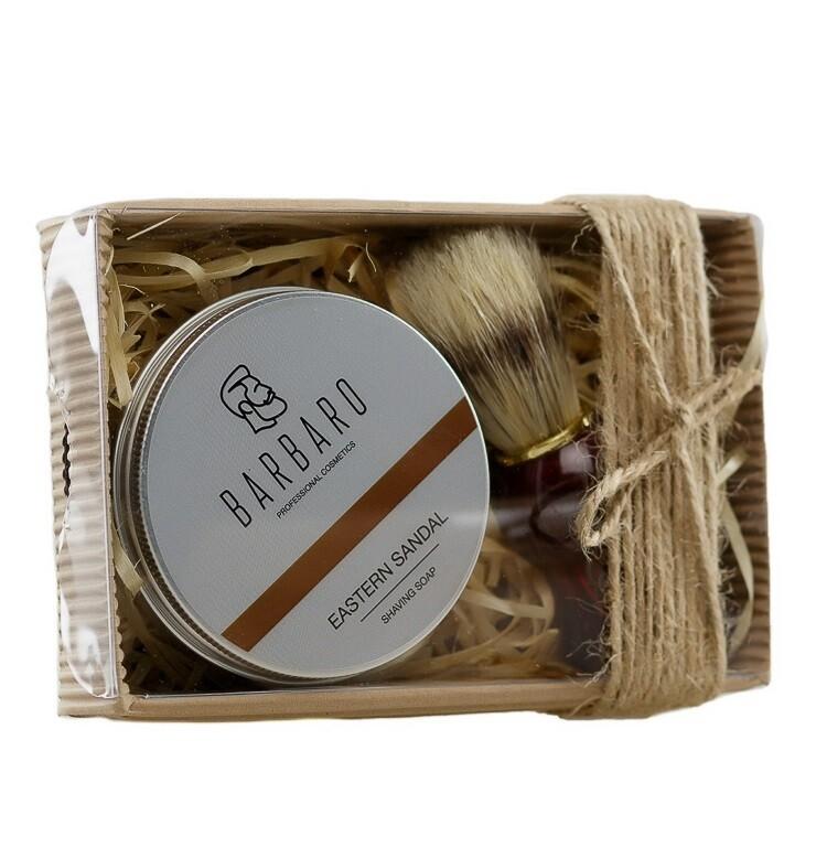 Barbaro Shave Set v.2 - Подарочный набор для бритья