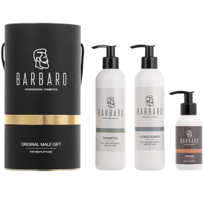 Barbaro Hair & Body Gift Box - Набор в брендированном тубусе