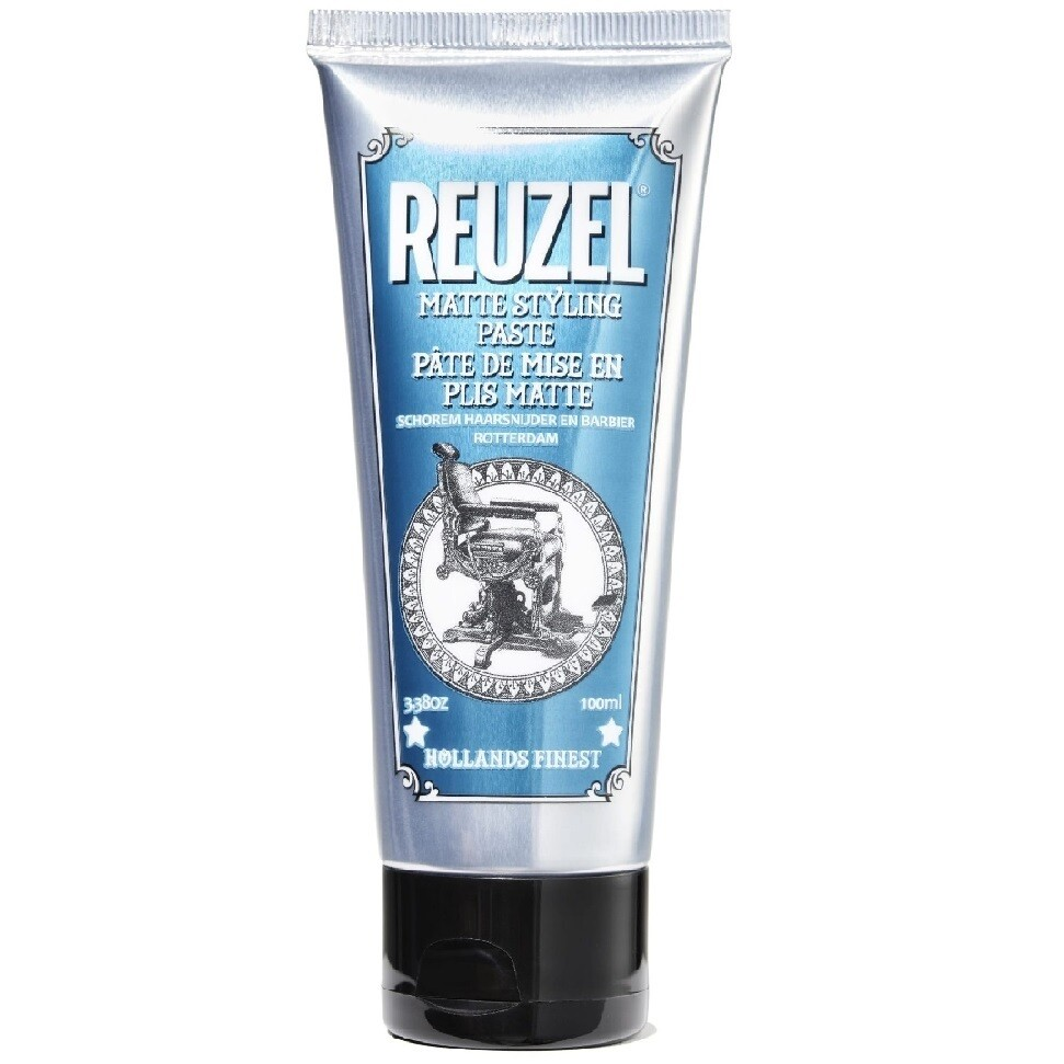 Reuzel Matte Styling Paste - Матовая Паста для укладки волос 100мл