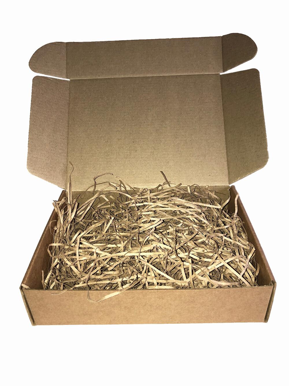 BARBARO Подарочная брендированная коробка крафт большая  (200*150*50)