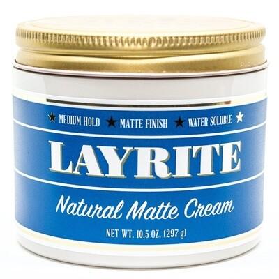 Layrite Natural Matte Cream - Матовый крем для укладки 297 гр