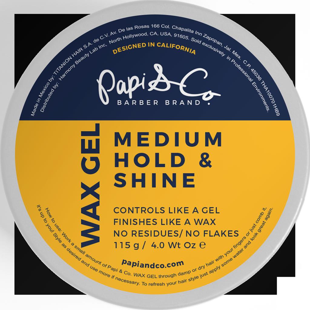 Papi & Co Wax Gel - Гель-воск для укладки 115 гр
