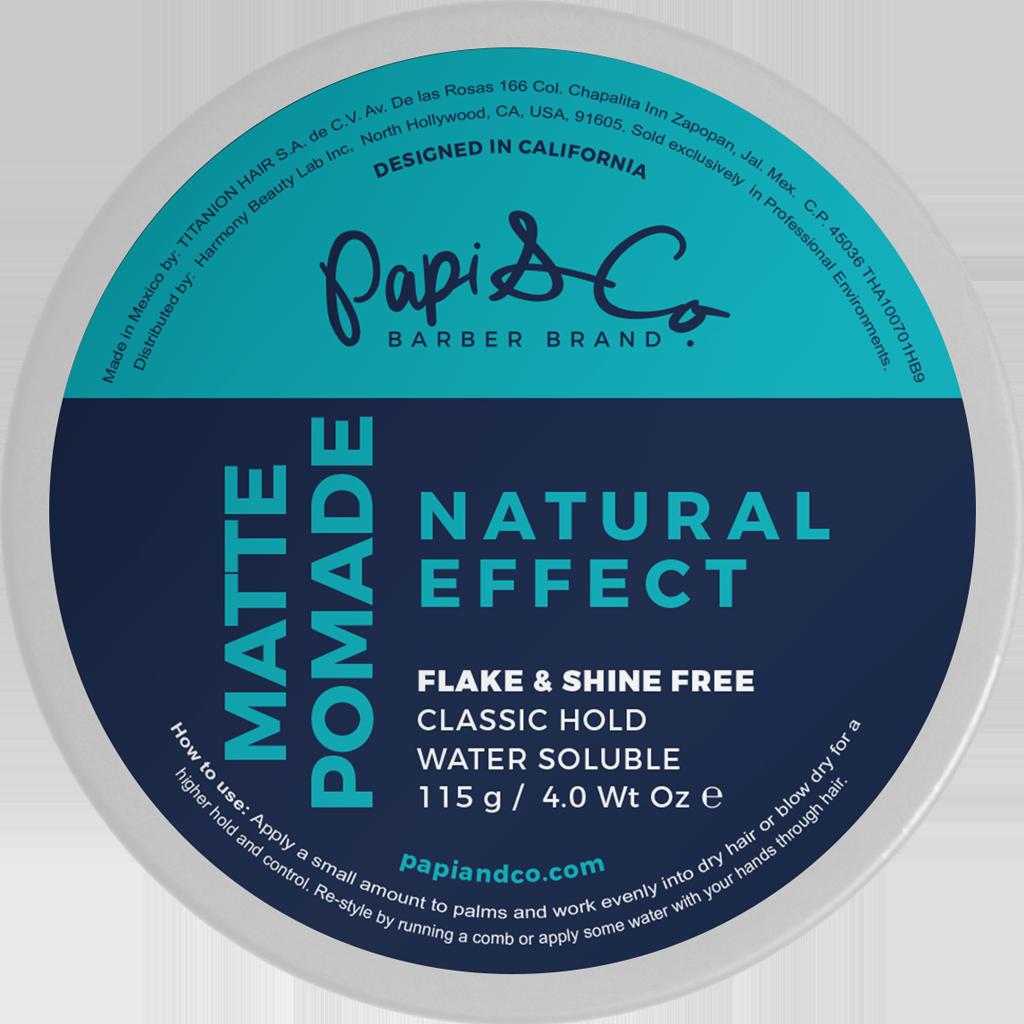 Papi & Co Matte Pomade -  Матовая помада для укладки 115 гр