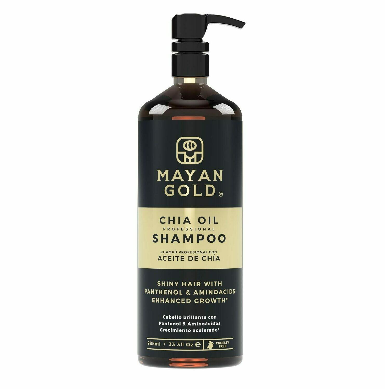 Papi & Co Mayan Gold Chia Oil Shampoo - Шампунь для волос 985 мл