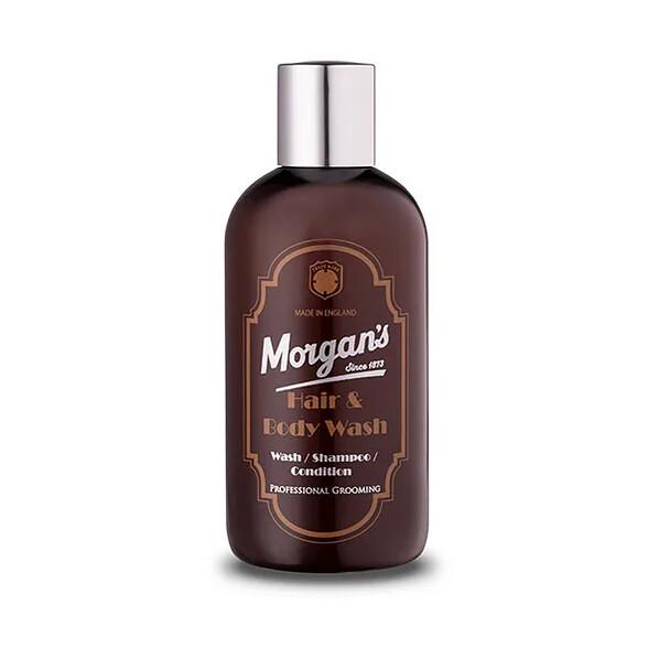Morgans Shampoo/Wash/Conditioner - Шампунь для волос 3 в 1, 250 мл