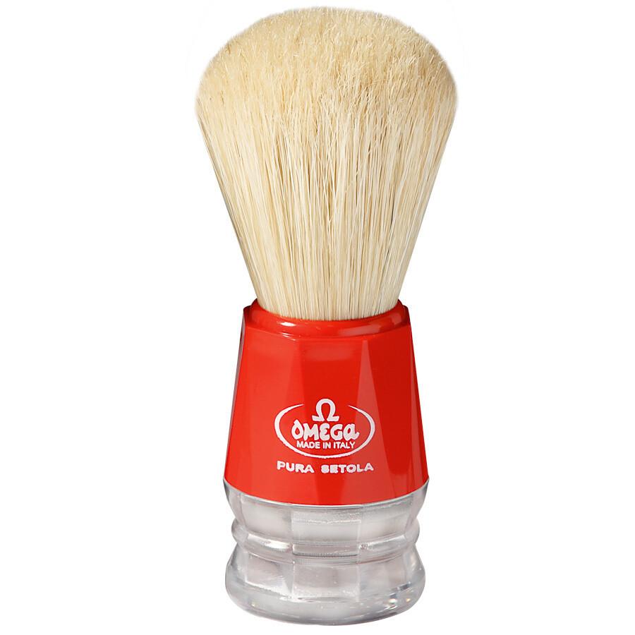 Omega 10018 - Помазок для бритья, кабан