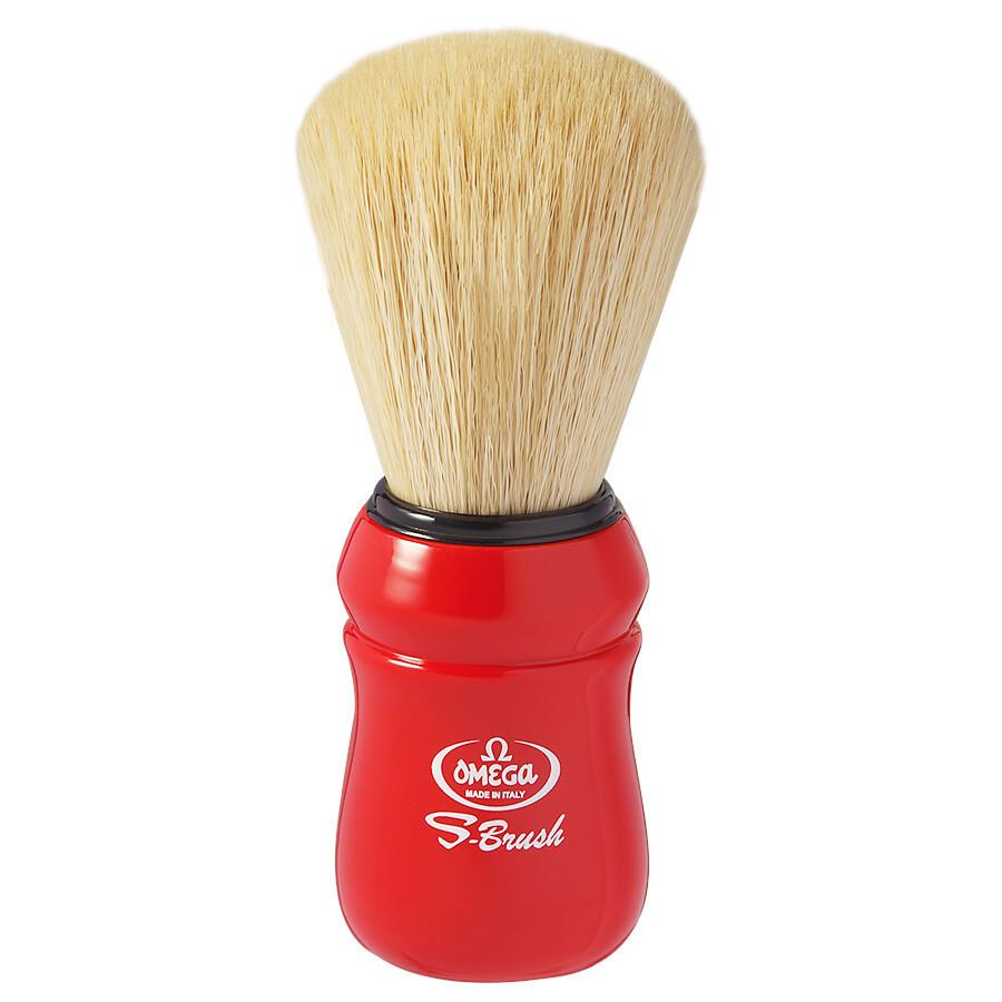 Omega S10049 - Помазок для бритья Щетина синтетическое волокно