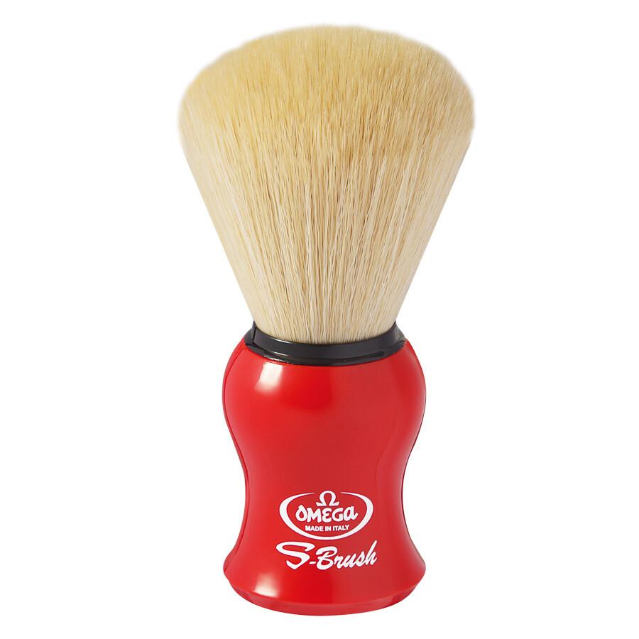 Omega S10065 - Помазок для бритья Щетина синтетическое волокно