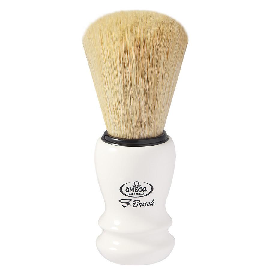 Omega S10108 - Помазок для бритья Щетина синтетическое волокно
