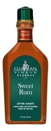 Clubman Reserve Sweet Rum After Shave Lotion - Лосьон после бритья Сладкий ром 177 мл