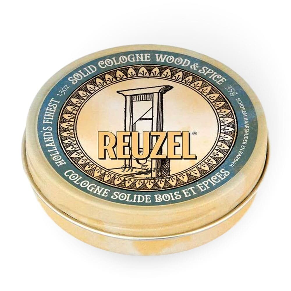 Reuzel WOOD & SPICE Solid Cologne Balm - Твердый Одеколон 35мл