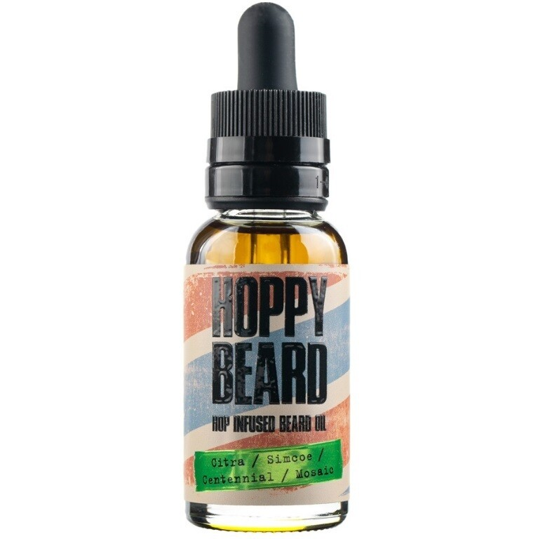 Barbaro Hoppy Beard Hop Infused Oil - Масло для бороды Хмельное 30 мл