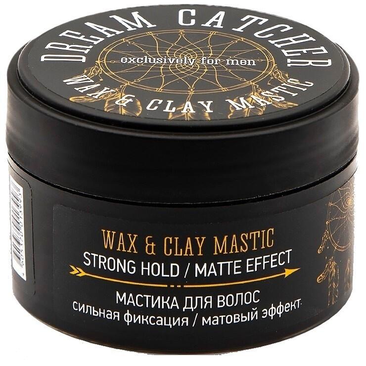 Dream Catcher Wax & Clay Mastic - Мастика для волос Сильная фиксация и матовый эффект 100 гр