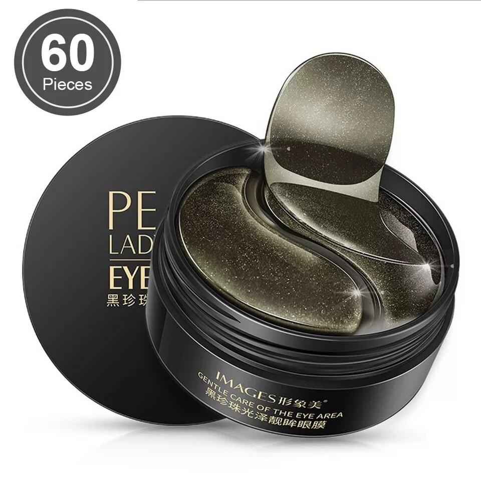 Гидрогелевые патчи для глаз, Black Pearl, 60шт