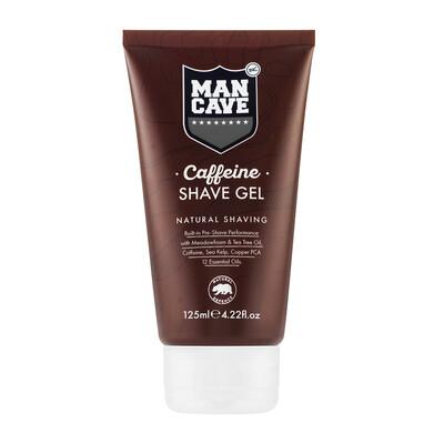 Mancave CAFFEINE SHAVE GEL - Гель для бритья 125 ml.