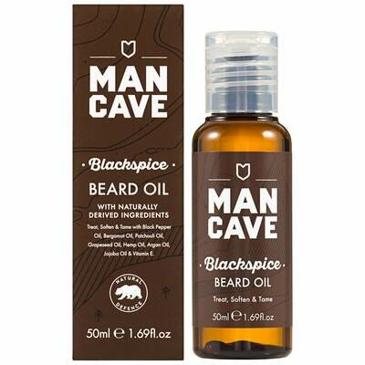 ManCave Beard Oil Blackspice - Масло для бороды 50ml