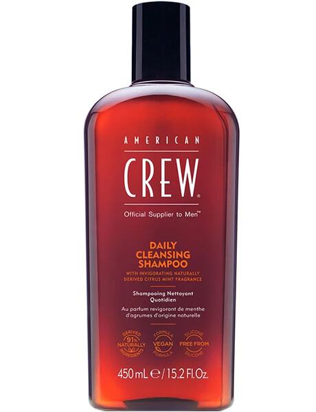 American Crew Daily Cleansing Shampoo - Шампунь очищающий для ежедневного ухода 450ml