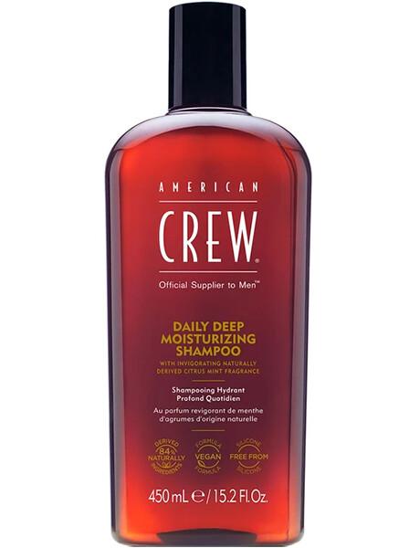 American Crew Daily Deep Moisturizing Shampoo - Шампунь увлажняющий для ежедневного ухода 450ml
