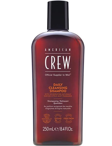 American Crew Daily Cleansing Shampoo - Шампунь очищающий для ежедневного ухода 250ml