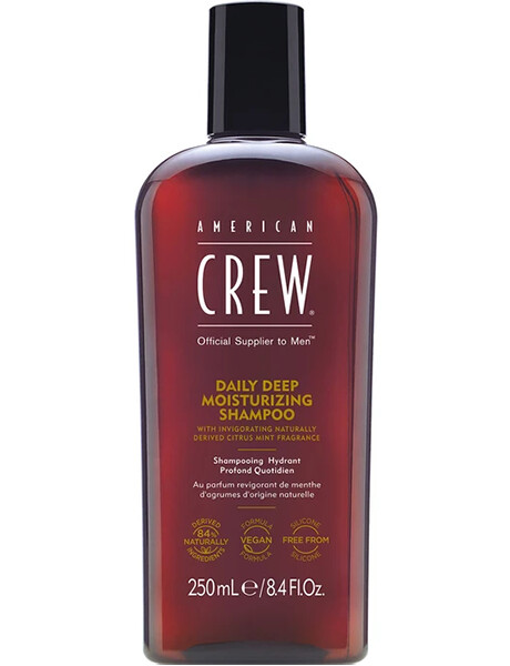 American Crew Daily Deep Moisturizing Shampoo - Шампунь увлажняющий для ежедневного ухода 250ml