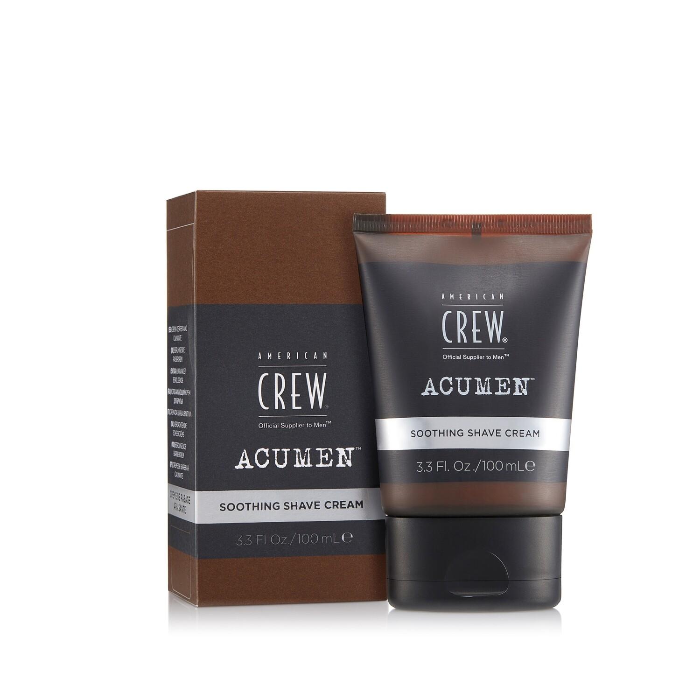 American Crew Acumen Soothing Shave Cream - Успокаивающий крем для бритья 100 мл
