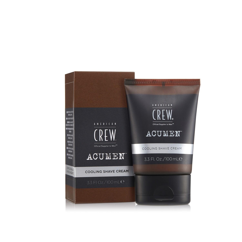 American Crew Acumen Cooling Shave Cream  - Охлаждающий крем для бритья 100 мл