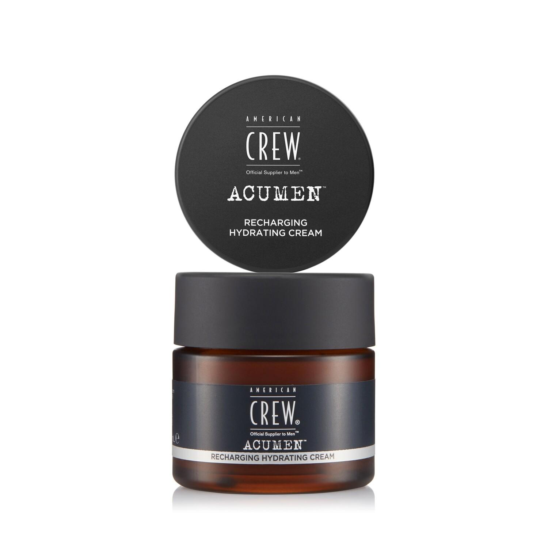 American Crew Acumen Recharging Hydrating Cream - Питательный увлажняющий крем для лица 60 мл