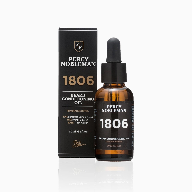 Percy Nobleman 1806 Beard Oil - Масло для бороды 30 мл