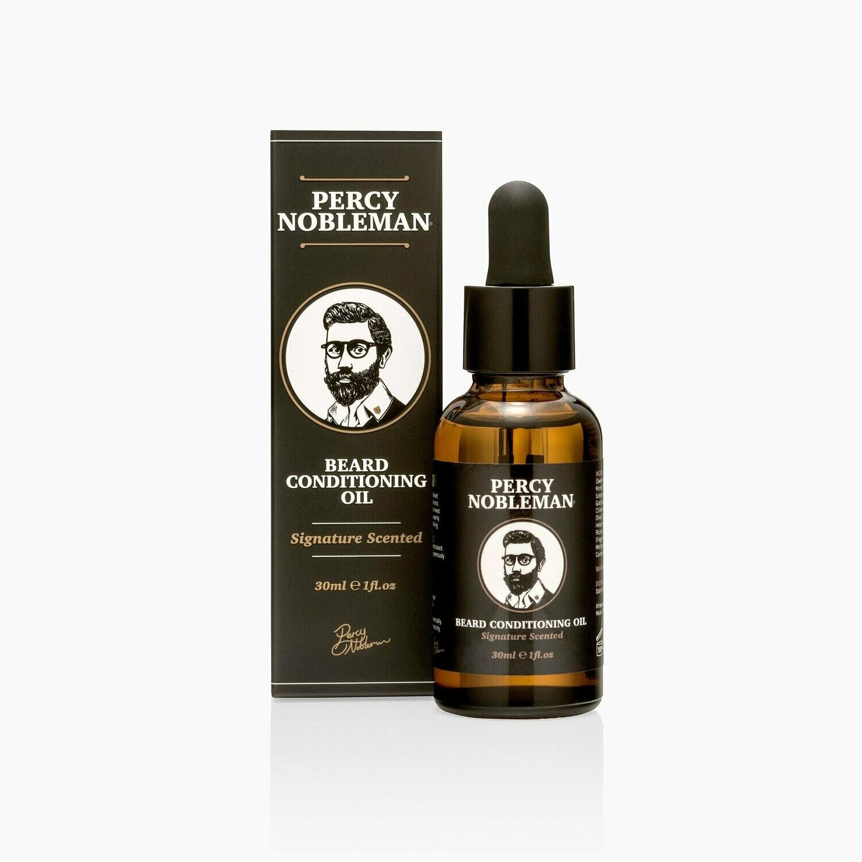 Percy Nobleman Signature Beard Oil - Масло для бороды 30 мл