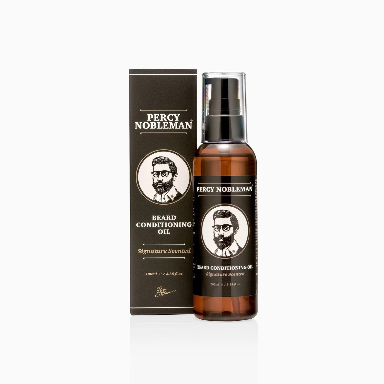 Percy Nobleman Signature Beard Oil - Масло для бороды 100 мл