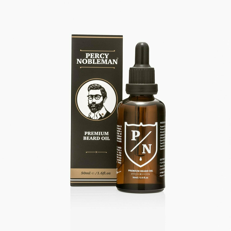 Percy Nobleman Premium Beard Oil - Премиальное масло для бороды 50 мл