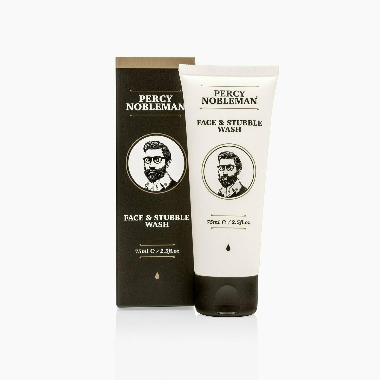 Percy Nobleman Face & Stubble Wash - Средство для умывания лица и бороды 75 мл
