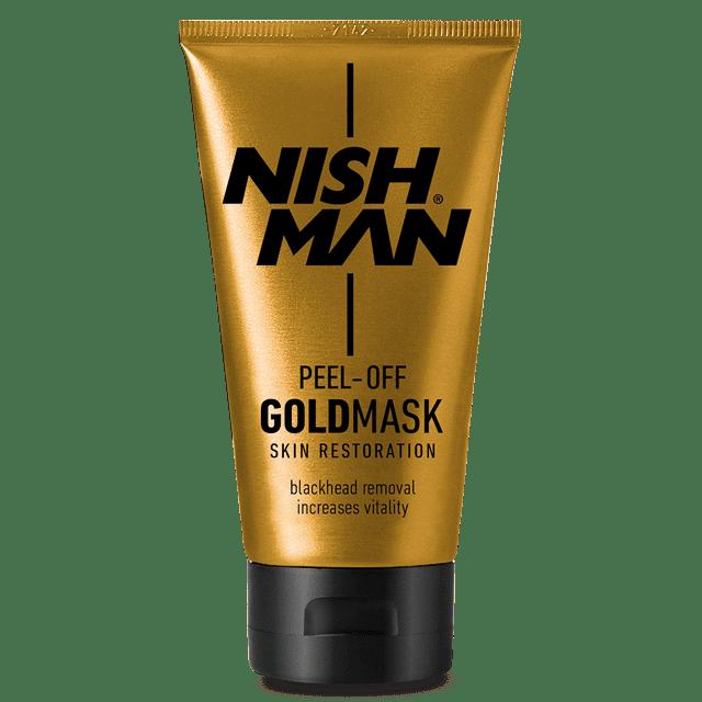 NISHMAN GOLD PEEL OFF MASK - Очищающая маска для лица 150 МЛ