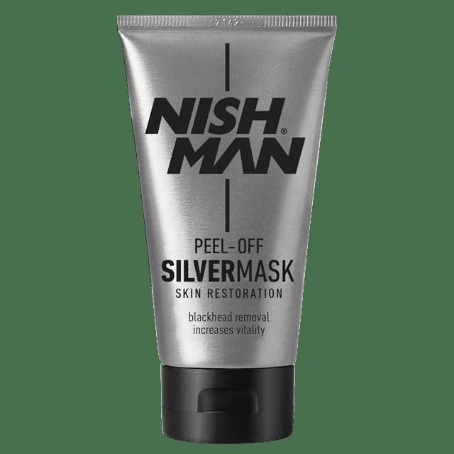 NISHMAN SILVER PEEL OFF MASK - Очищающая маска для лица 150 МЛ