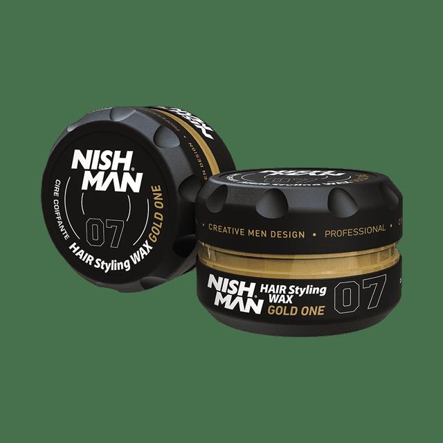 NISHMAN 07 GOLD ONE - Воск для волос сильной фиксации 150 МЛ