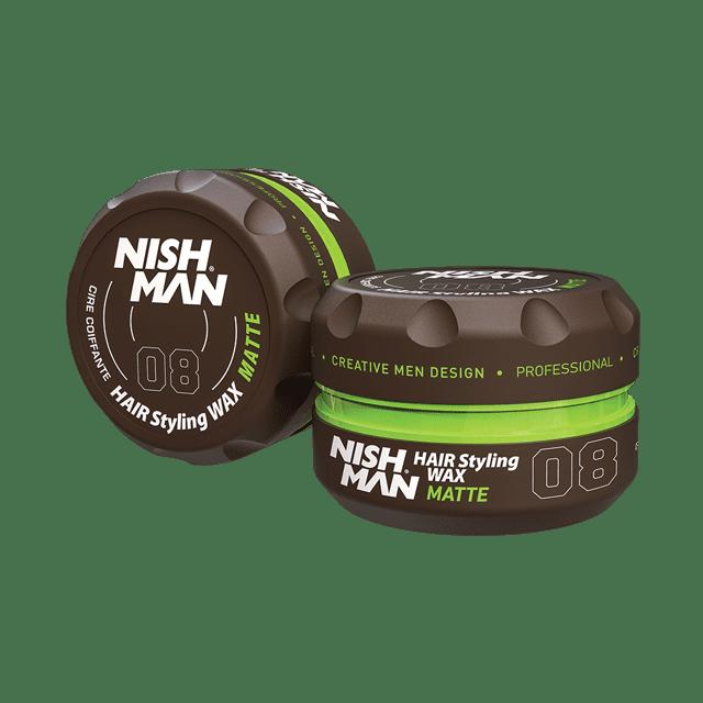 NISHMAN 08 MATTE LOOK - Воск для волос 150 МЛ