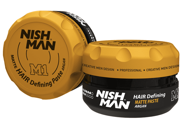 NISHMAN Matte Hair Defining Paste M1 - Паста для волос матовая, сильная фиксация 100 МЛ