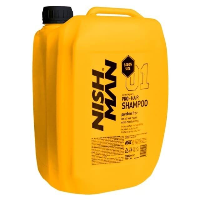 NISHMAN SALON SIZE SHAMPOO Профессиональный шампунь для волос 5 L