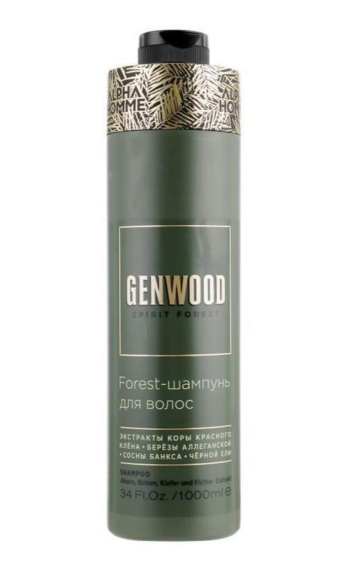 ESTEL PROFESSIONAL Мужской шампунь ALPHA HOMME GENWOOD для ухода за волосами 1000 мл