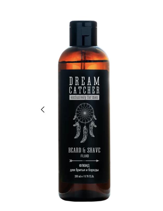 Dream Catcher Beard & Shave Fluid - Флюид для бритья и бороды 200 мл