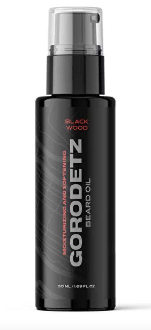 Gorodetz Beard Oil Black Wood / Масло для бороды Черное Дерево 50 мл