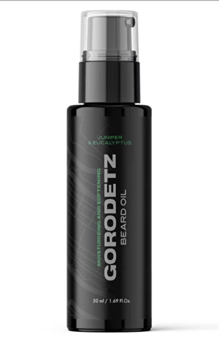 Gorodetz Beard Oil Juniper-Eucalyptus / Масло для бороды Можжевельник-Эвкалипт 50 мл