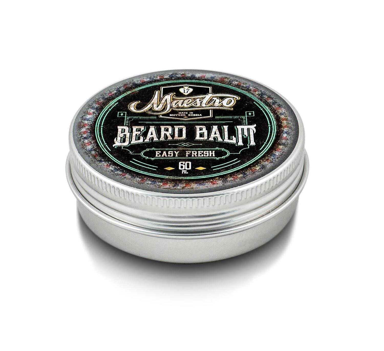 Maestro Beard Balm Easy Fresh - Бальзам для бороды Цитрус 60 мл