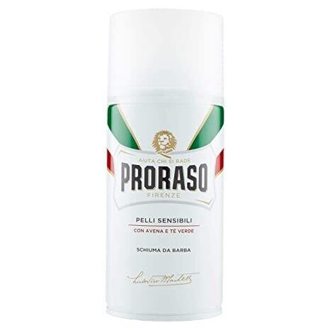 Proraso - Пена для бритья Зелёный Чай и Овёс 300 мл