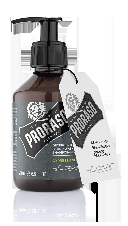 Proraso Cypress & Vetyver - Шампунь для бороды 200 мл
