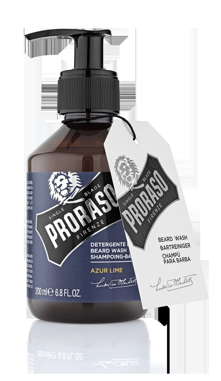 Proraso Azure Lime - Шампунь для бороды 200 мл