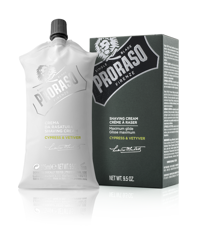 Proraso Cypress & Vetiver - Крем для бритья 275 мл