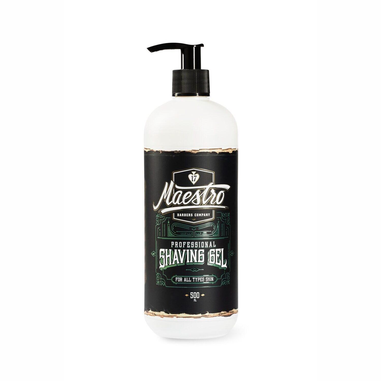 Maestro Professional Shaving Gel - Гель для бритья 500 мл